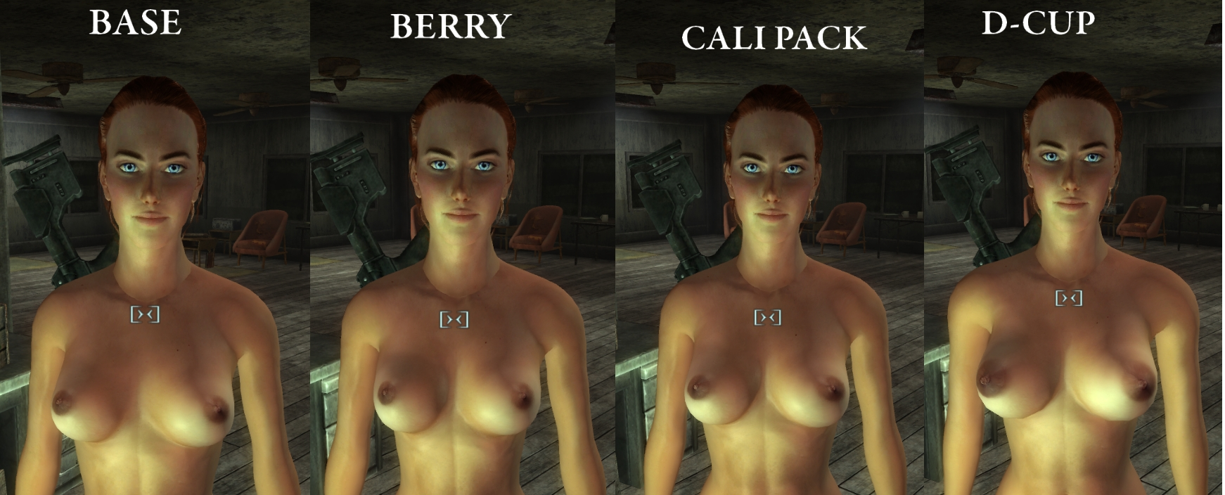 Fallout 3 the nude patch cartoon thumbs
